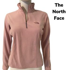 The North face fleece zip pullover